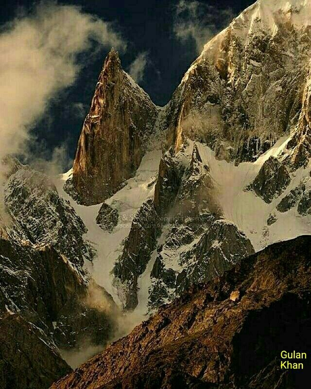 Lady Finger Peak Karakoram Mountains Range Hunza Valley Gilgit Baltistan Pakistan Karakoram Mountains Pakistan Travel Hunza Valley
