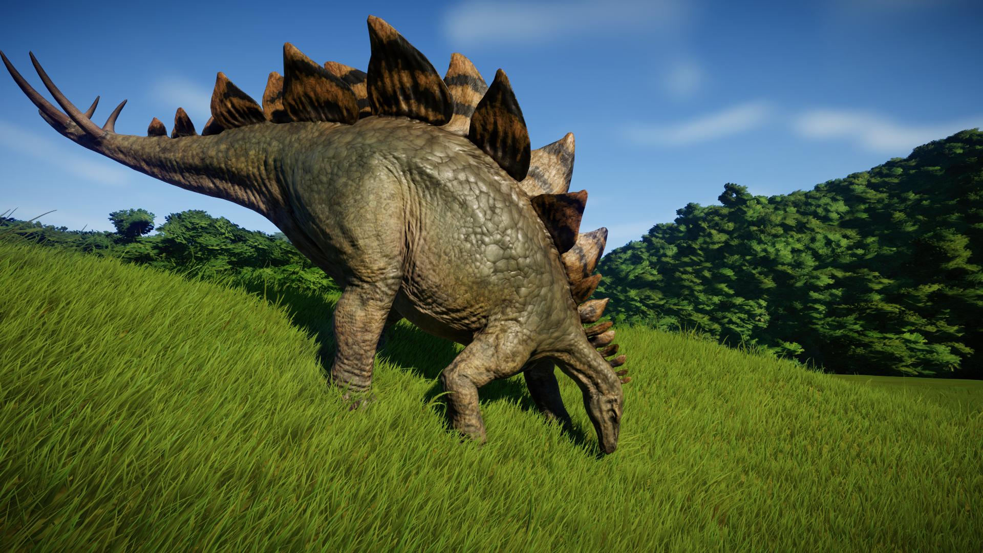 Stegosaurus   brother in 2019   Jurassic park world