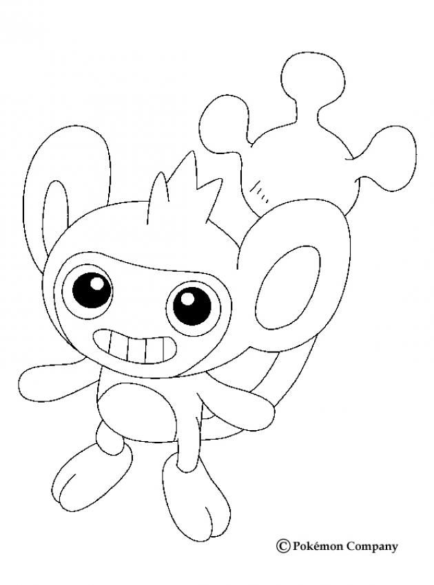 Aipom pokemon coloring page this lovely aipom pokemon coloring page is one of my favorite check out the normal pokemon coloring pages to find out