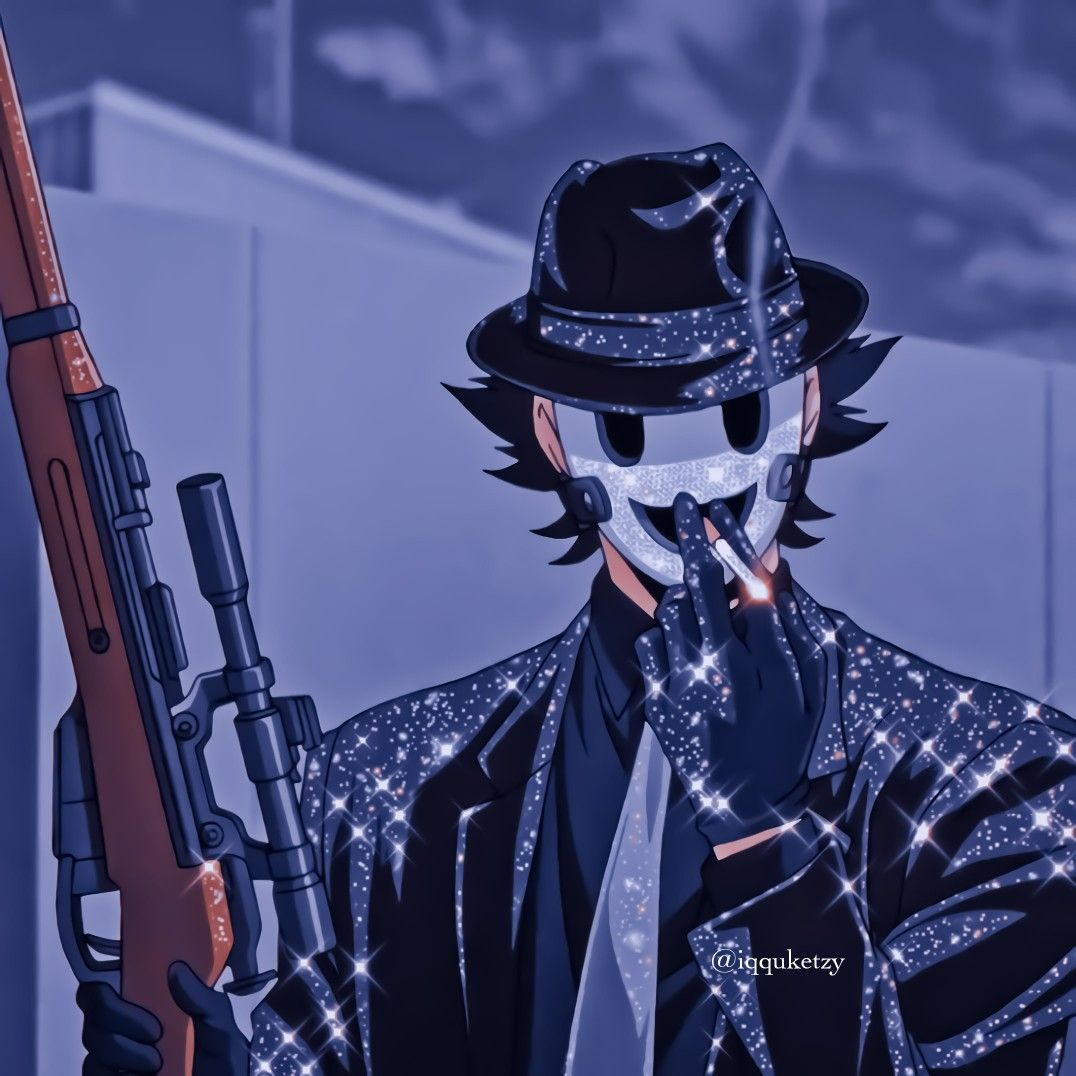Yuka Makato Sniper Mask Icons In 2021 Cute Anime Coupes Cute Anime Character Anime Guys Anime boys with guns wallpaper