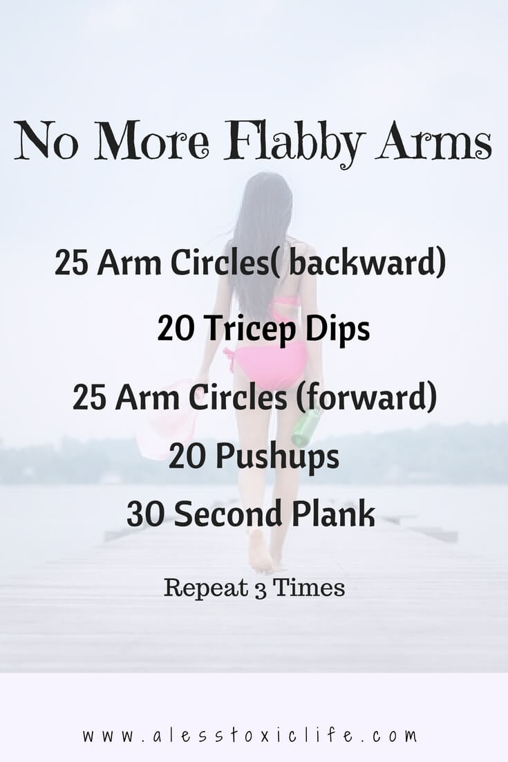 15 Super Easy Workouts To Tone Your Arms At Home (free videos) - #home #armworkouts #flabbyarms