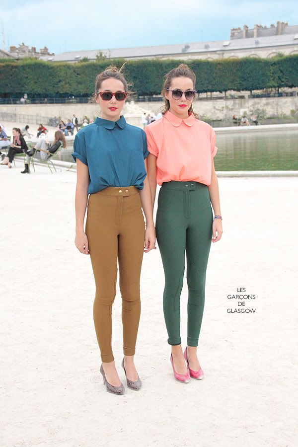 Twin Apparel: Jardin de Tuileries, Paris