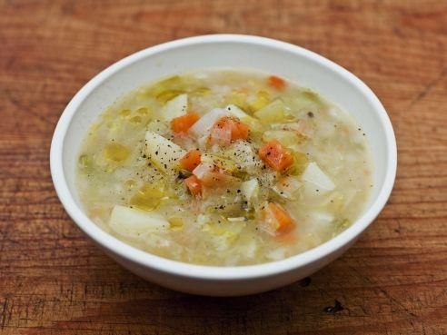 Leek and potato soup (jamie oliver) | all GOOD | Pinterest | Soup, Potato Soup and Potato leek soup