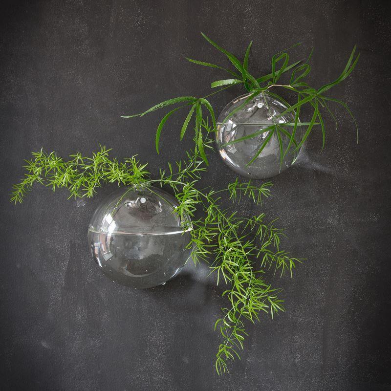 Wazon Szklany Scienny Kula Kling S Wall Vase Vase Decor