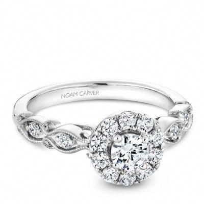 Noam Carver Halo Filigree 0 94ct In 2018 How To Buy A Diamond
