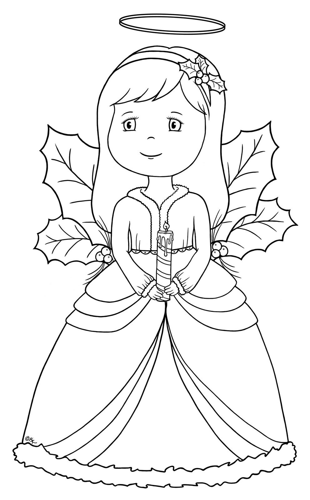 Xmas2 Angel2 Bearywishes Blogspot Com Jpg 992 1 600 Pixels Angel Coloring Pages Coloring Pages Christmas Angels
