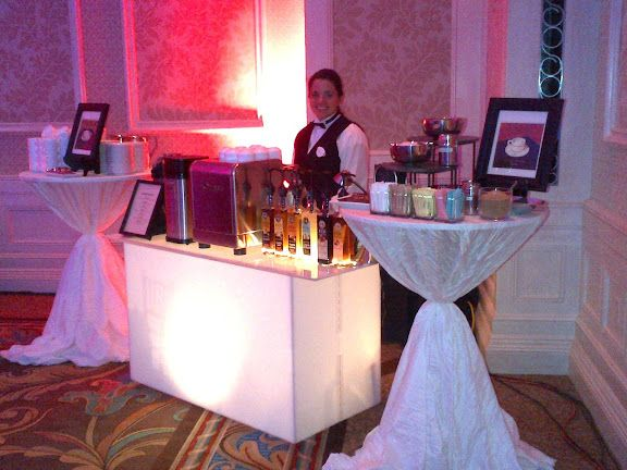 I will absolutely have a latte bar at my wedding.
