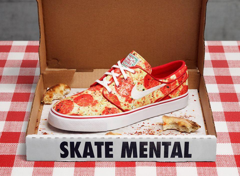 b93283fdc7e Skate Mental x Nike SB Janoski  Pepperoni Pizza  QS