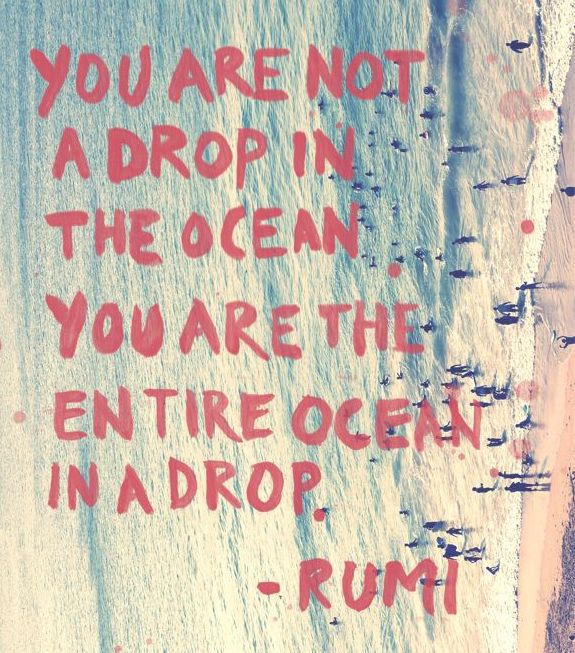 More Love, Less Drama: Give Yourself Credit For How Far Youu0027ve Come ·  Inspirational Ocean QuotesOcean ...