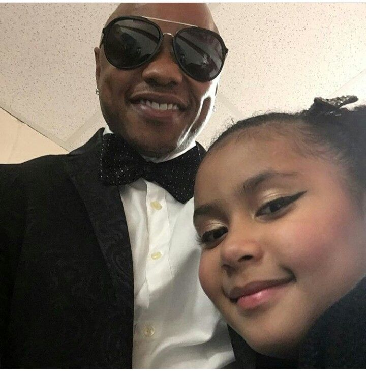 Donell Jones And His Youngest Daughter Its A Family Affair