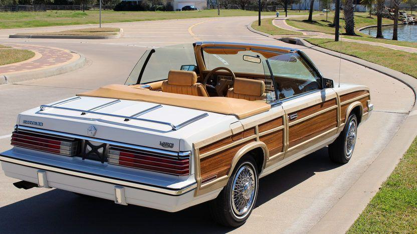 1985 Chrysler Lebaron Convertible T123 Houston 2015 In 2020
