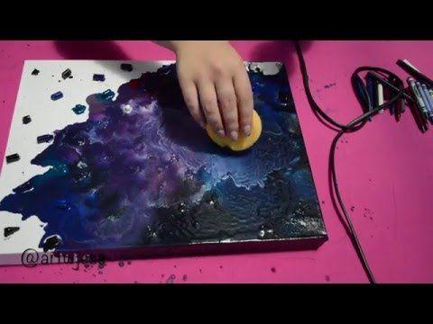 DIY Galaxy Print | Sea Lemon - YouTube