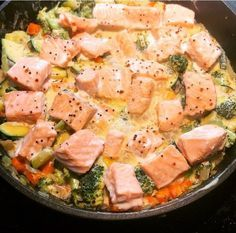 Photo of Creamy salmon pan – Hege Hushovd