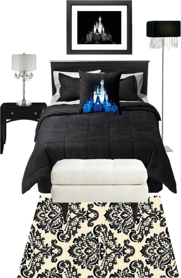 Chic Disney Bedroom in 2020   Disney bedrooms, Home decor, Disney home decor