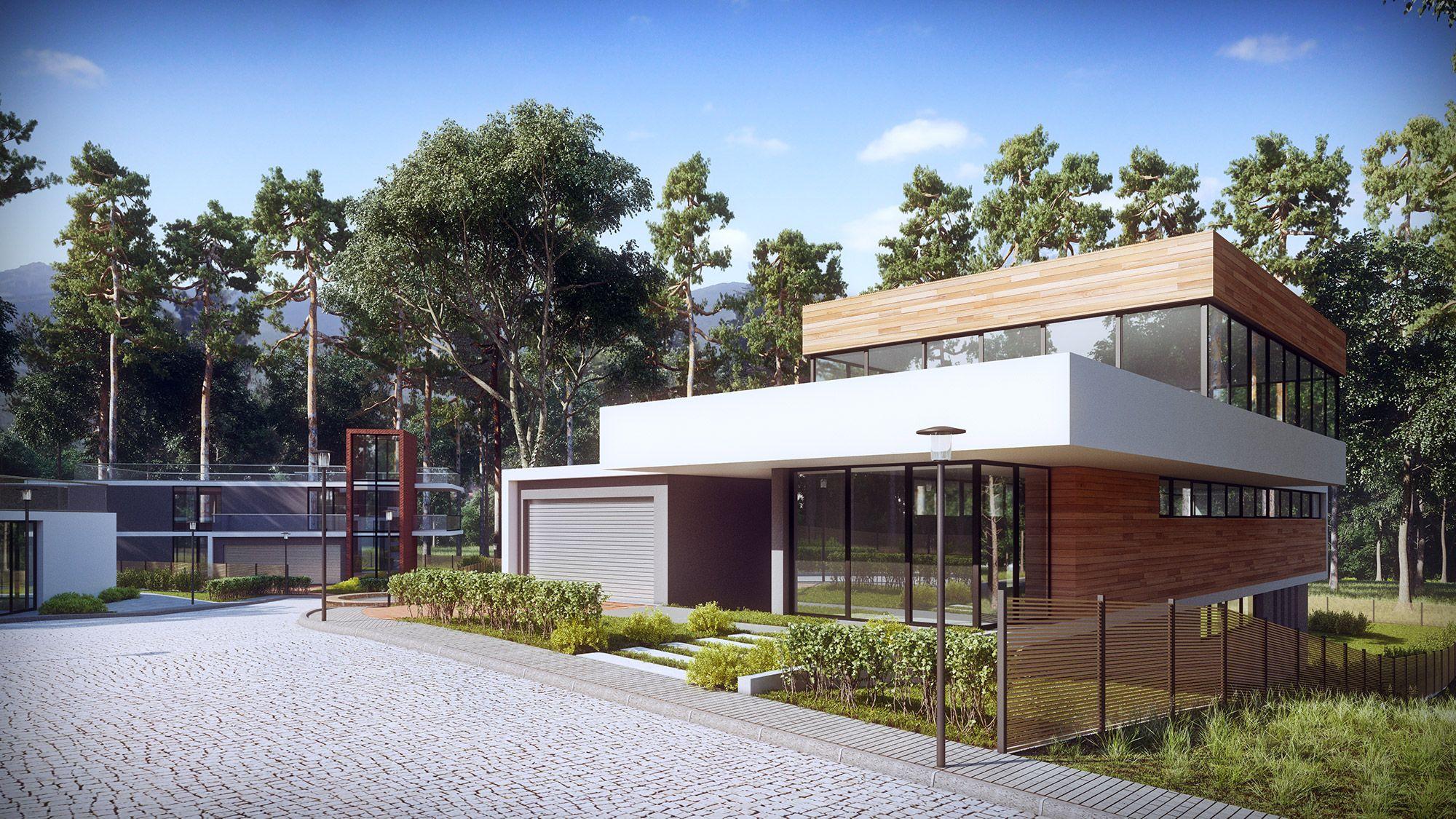 Housing Development Boyana Sofia Kunchevarchdesign CG