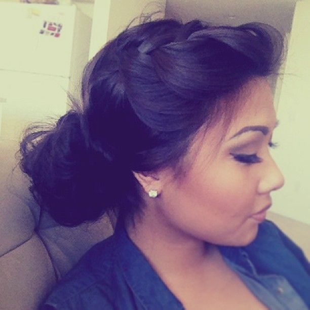 Best 25 Wedding Hairstyles Ideas On Pinterest: Best 25+ Braided Side Buns Ideas On Pinterest