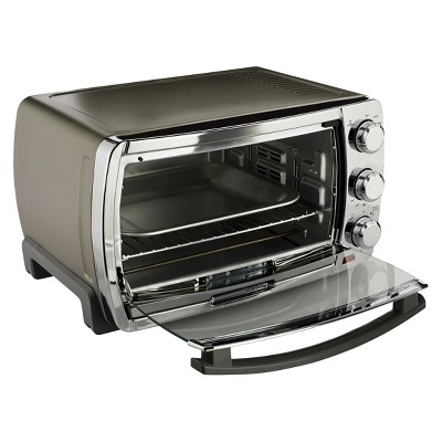 Oster Large Capacity Convection Toaster Oven Stainless Steel Tssttvsk02 Toaster Oven Convection Toaster Oven