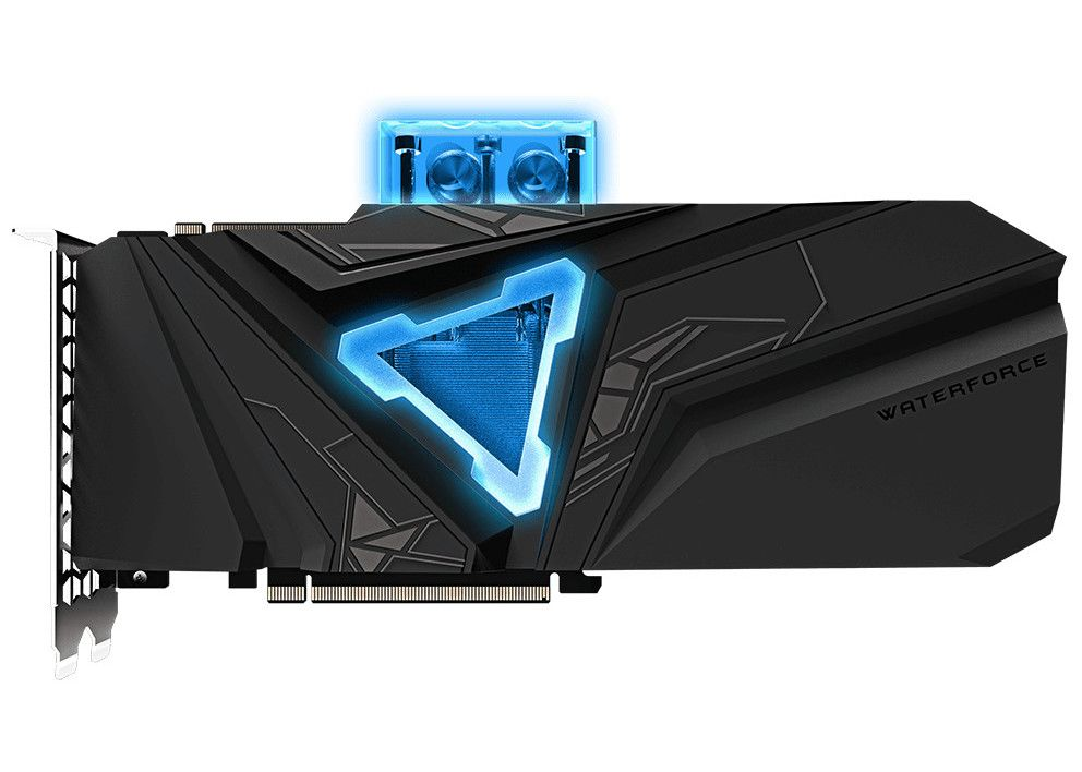Gigabyte Today Announced The Gigabyte Waterforce Graphics Cards Geforce Rtx 2080 Super Gaming Oc Waterforce Wb 8g Powered B Graphic Card Super Games Gigabyte