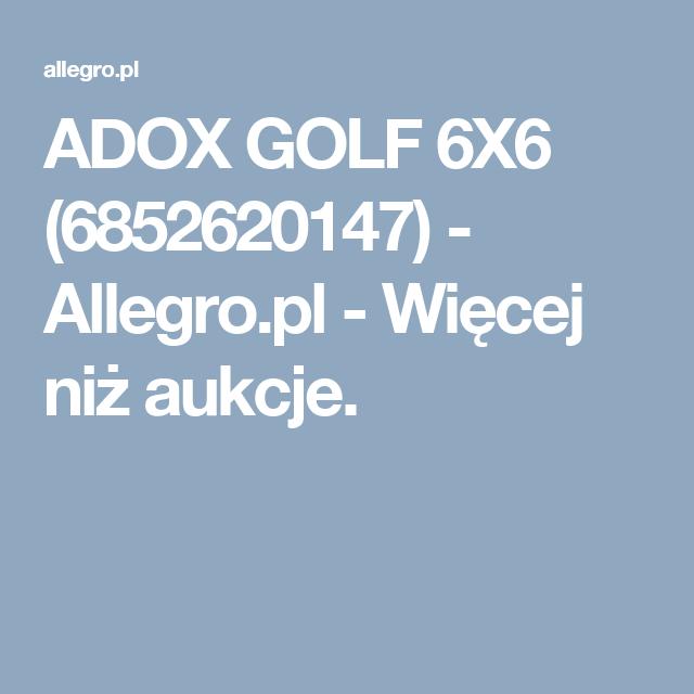 Adox Golf 6x6 6819121313 Oficjalne Archiwum Allegro Golf