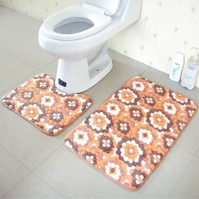 Wash Style Mechanical Wash Hand Wash Use Bedroom Commercial Decorative Prayer Outdoor Hotel Toilet Bathroom Home St Bath Mat Sets Bathroom Bath Mats Bath Mat