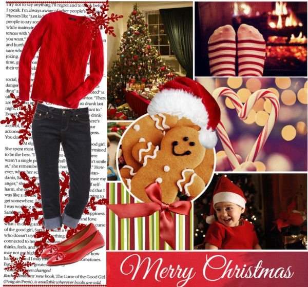 """""""Merry Christmas!"""" by faithsnyder ❤ liked on Polyvore"""
