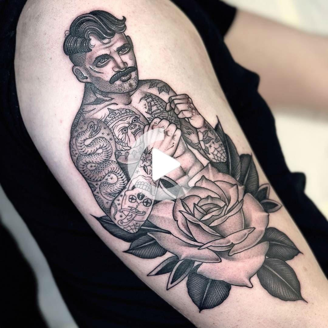 Americana And Neo Traditional Tattoo Style By London Based Artist In 2020 Tattoos Traditional Tattoo Boxer Tattoo