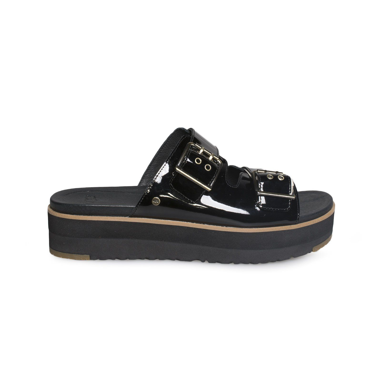 a10746e77618 UGG Cammie Black Sandal - Women s Slide Sandals