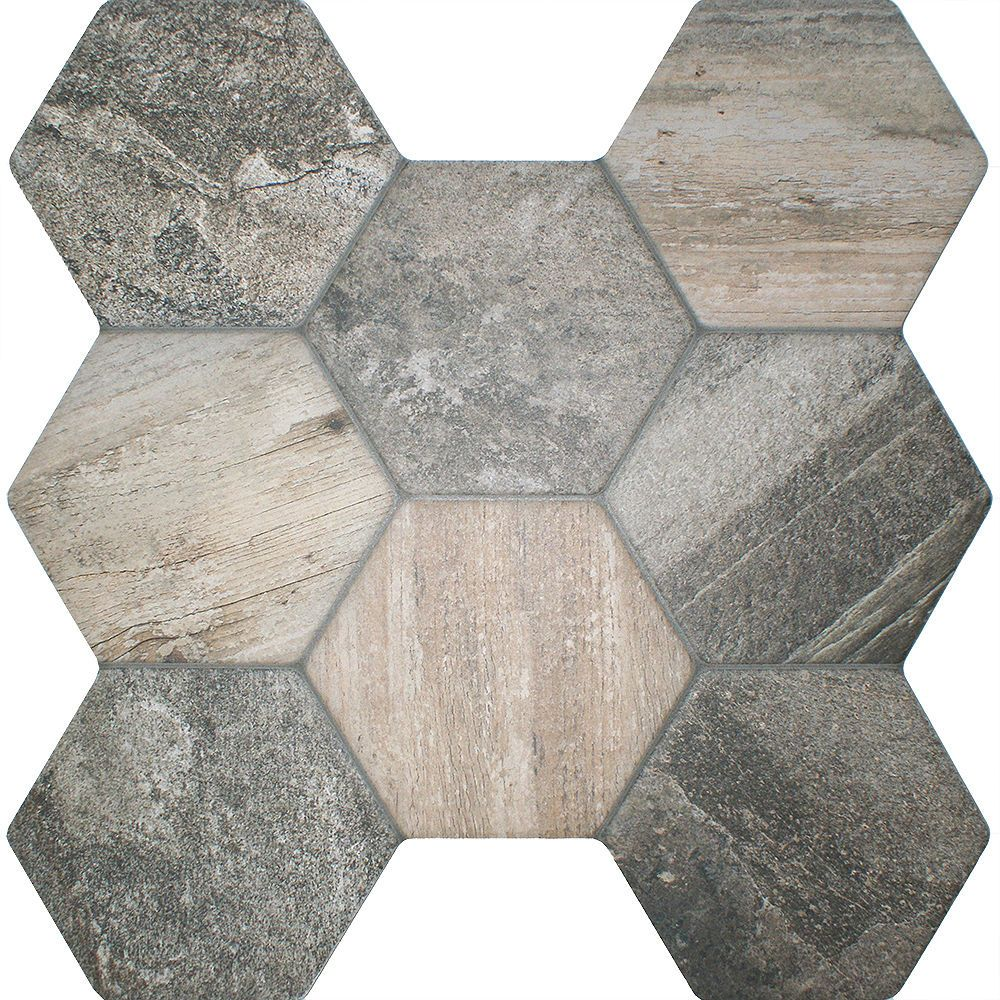 Details About Ol Ruvido Hexagon Woodland Patterned