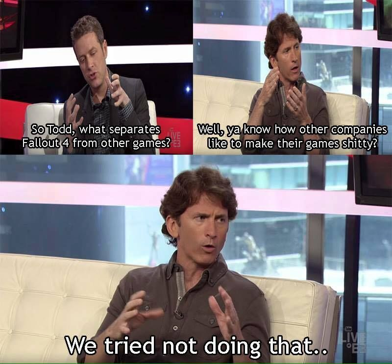 Todd Howard Fallout Fallout Game Video Games Funny Fallout