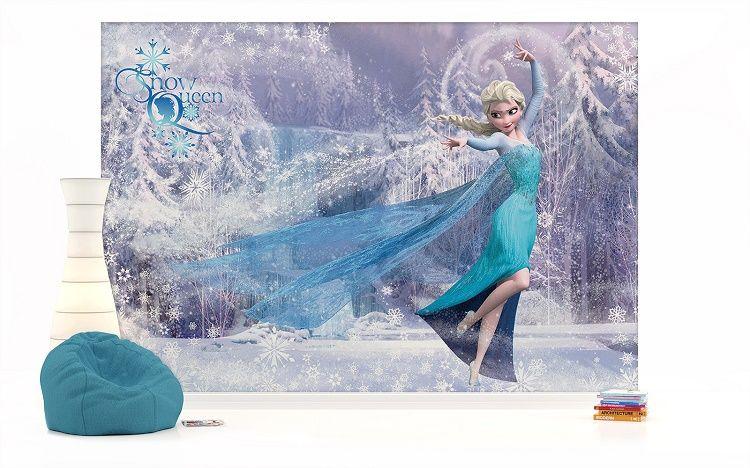 Elsa Disney Character Frozen Blue Bedroom Decor Room Wall