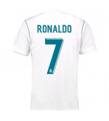 Billiga Fotbollströjor Real Madrid Cristiano Ronaldo 7 Hemmatröja 17-18