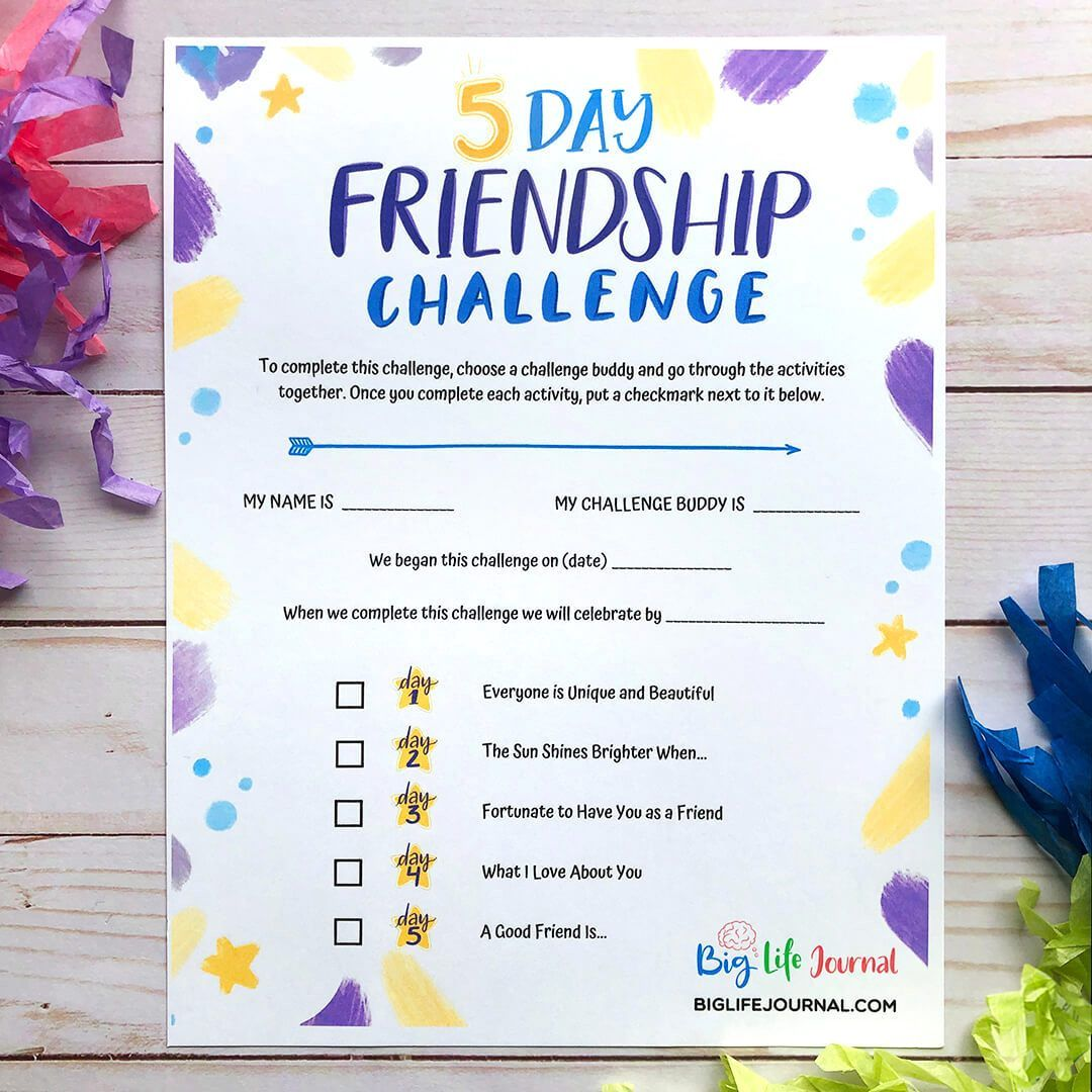 Challenges Kit Ages 5 12 Big Life Journal