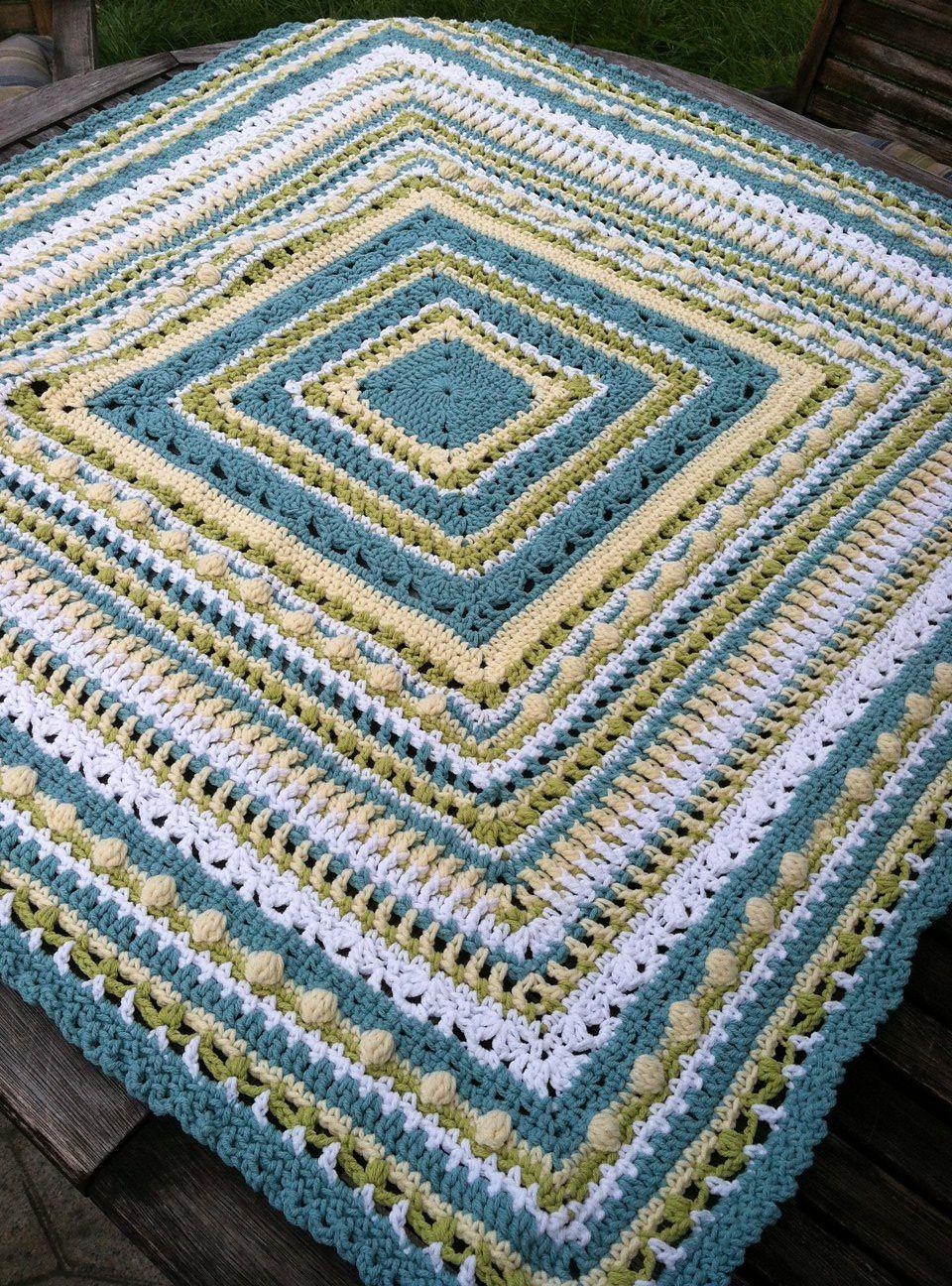 Ravelry: Faeries- Baby Sampler Afghan pattern by Elizabeth Mareno ...