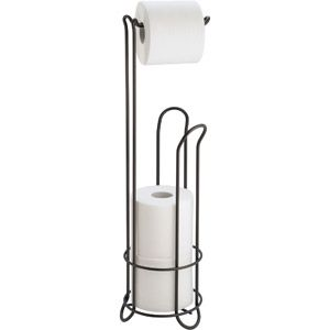 Interdesign Classico Toilet Paper Roll Holder With Stand Bronze Walmart Com Toilet Paper Holder Stand Free Standing Toilet Paper Holder Toilet Paper Stand
