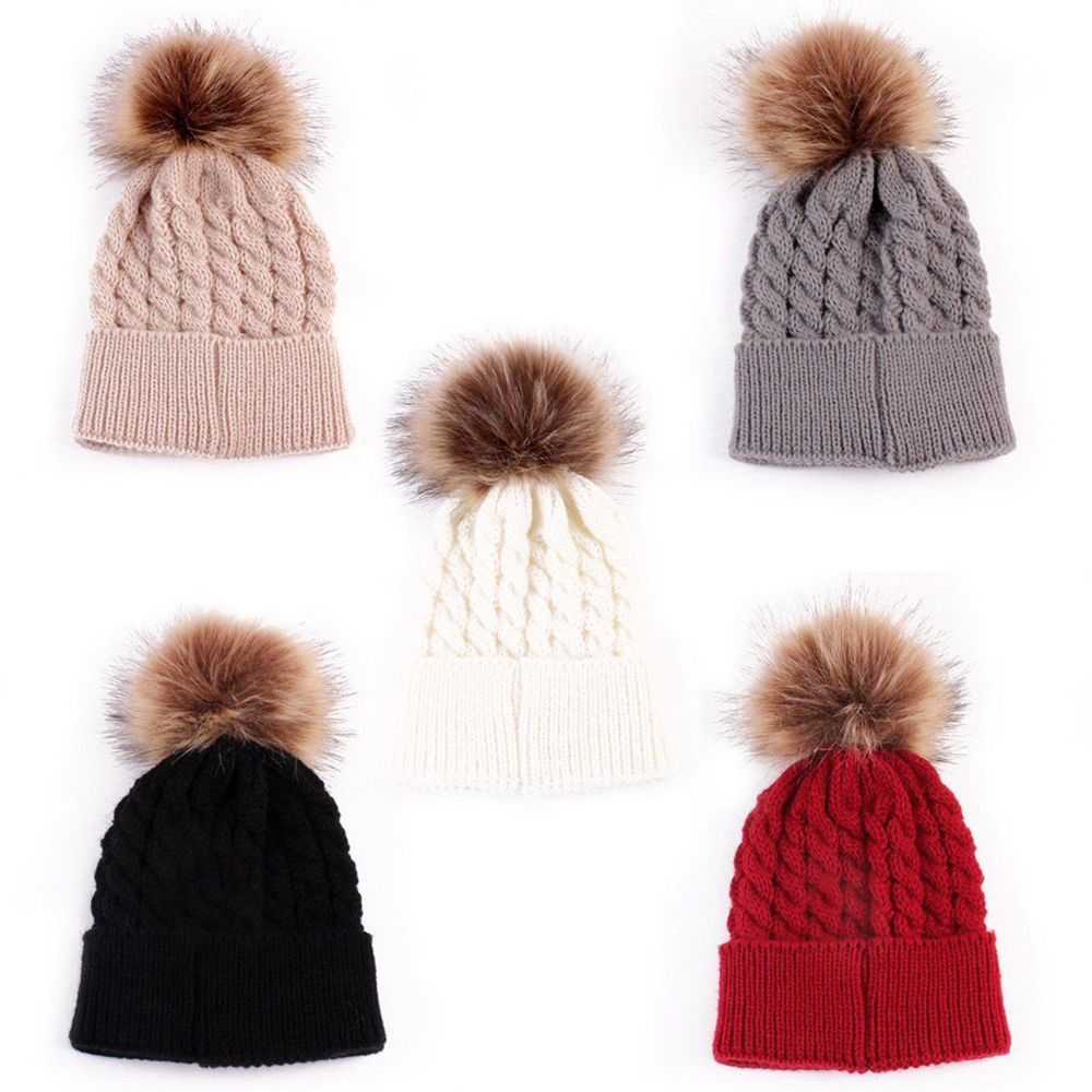 c231aa81f Toddler Kids Knitted Crochet Winter Warm Hat Beanie Cap | Products ...