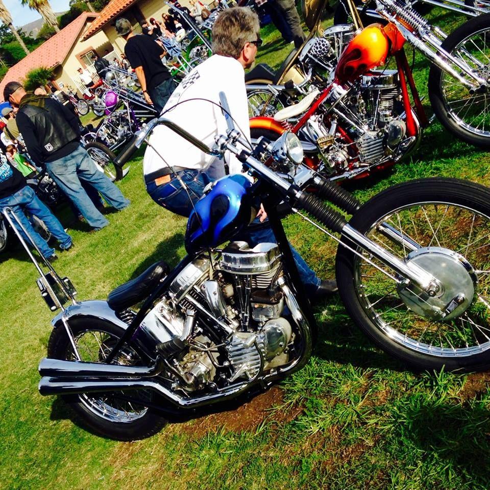 Harley Davidson Panhead Bobber chopper, \