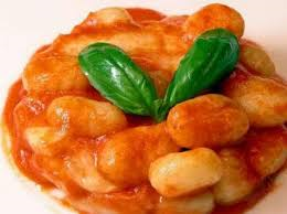 Spread a 17-ounce package gnocchi in one layer on a sheet of foil. Top with 1 cup tomato sauce and some basil. Form a packet. Grill over high heat, 12 minutes.