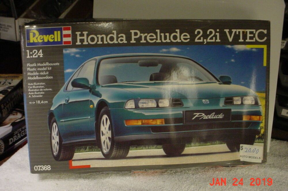 1994 Honda Prelude VTEC 2,2i 1/24 Revell 07368 Model Kit