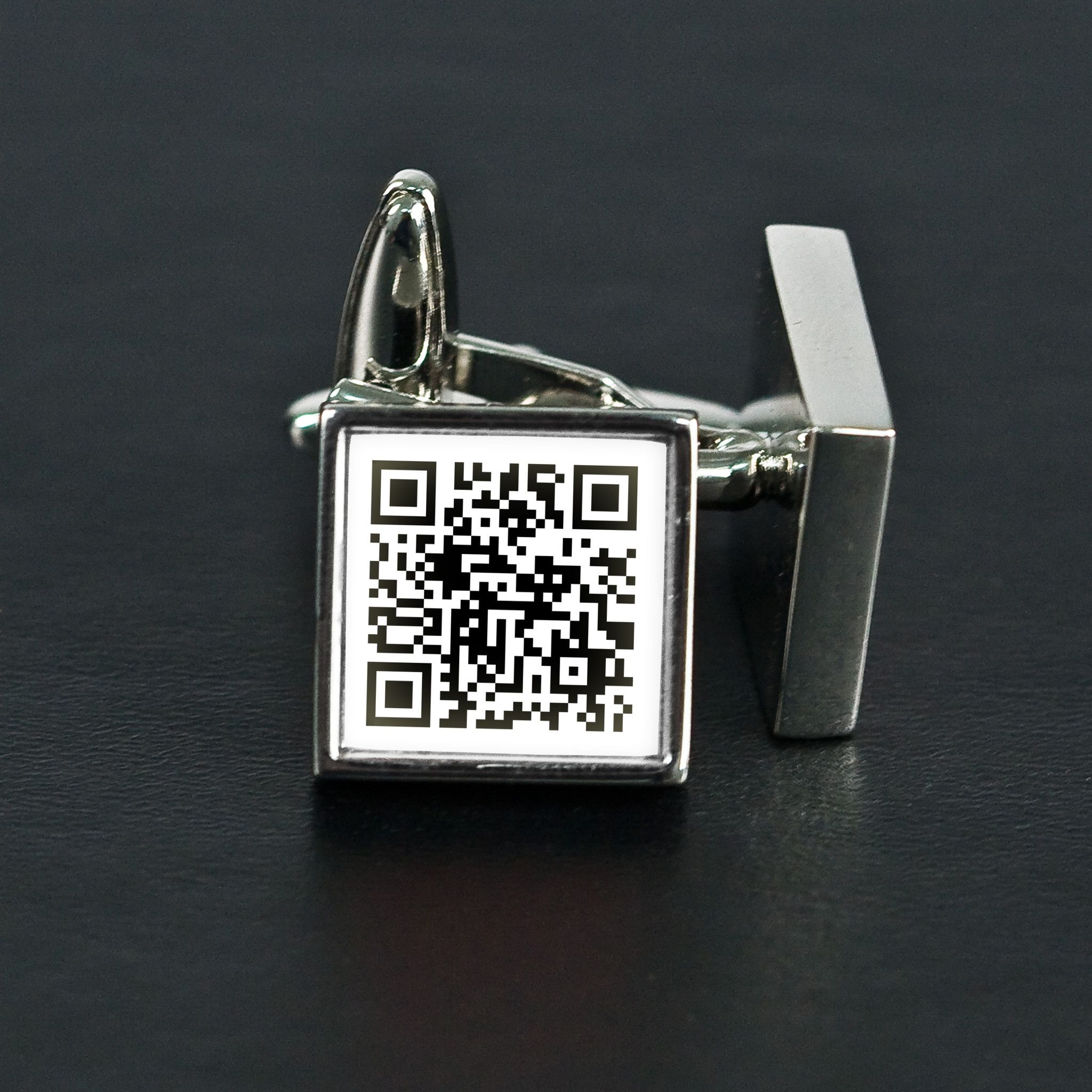 Secret Message Inverted Colour Cufflinks