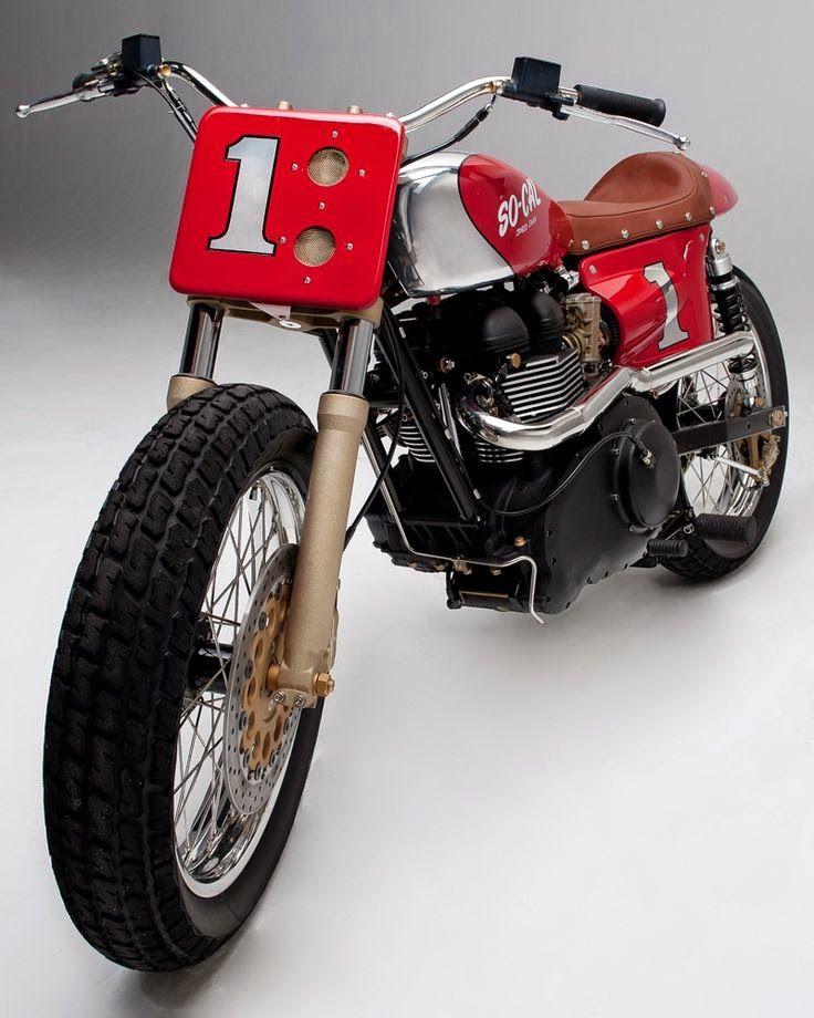 SoCal Flat Tracker Flat track motorcycle, Motorcycle