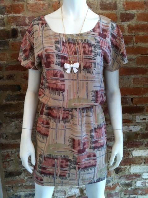 *Casual Printed Short Sleeve Dress* www.shopartifact.com