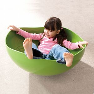 Win a Weplay Rocking Bowl for your child with Special Needs! The Weplay® Rocking Bowl allows kids to climb, hide, rock, and balance. The scalloped edge allows for the bowl to be turned over for kids to play under or on top. The bottom is designed with a smooth curve to allow the bowl to rock in all directions. The bowl is large enough for one to two children to play together. Age: 6 months & up. The Rocking Bowl is also available in clear.