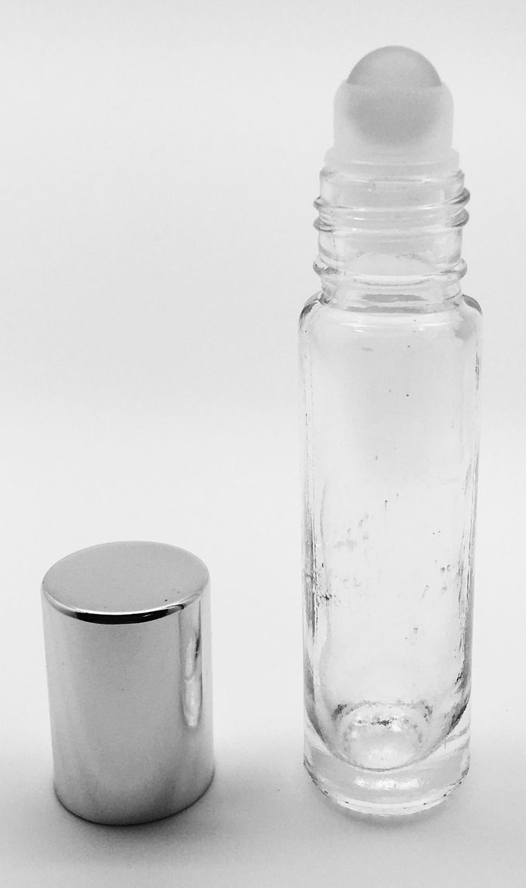 GotOilSupplies.com - 10 ml Clear Glass Roller Bottles with Glass Roll On Inserts