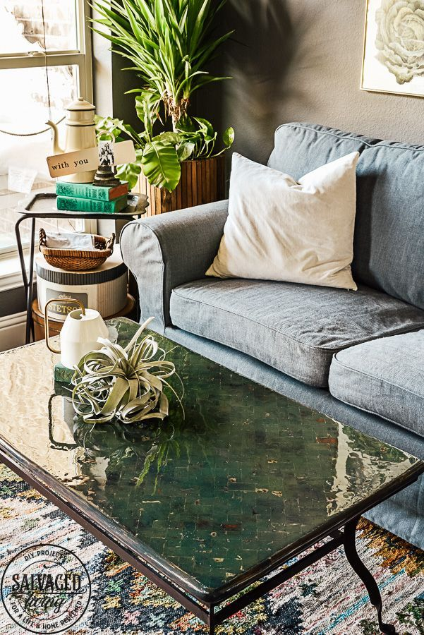 Boho Coffee Table For The Living Room Salvaged Living Globaler