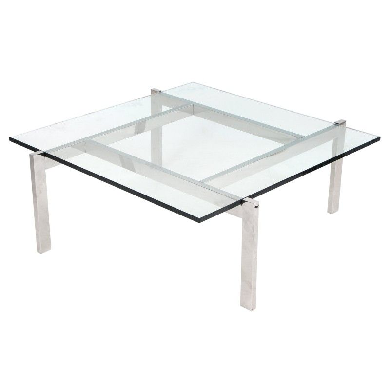 Cosmopolitan Coffee Contemporary Table In Clear Coffee Tables