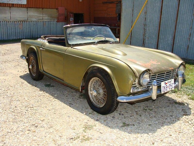 US $3,495.00 Used in eBay Motors, Cars & Trucks, Triumph   Triumph ...