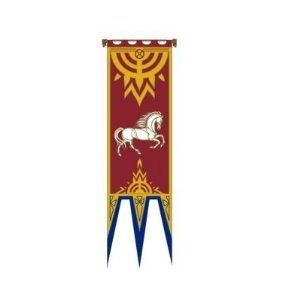 Lord Of The Rings Flag Banner Of Rohan Iv 57x196 Cm Lord Of The Rings Flag Banners Flag