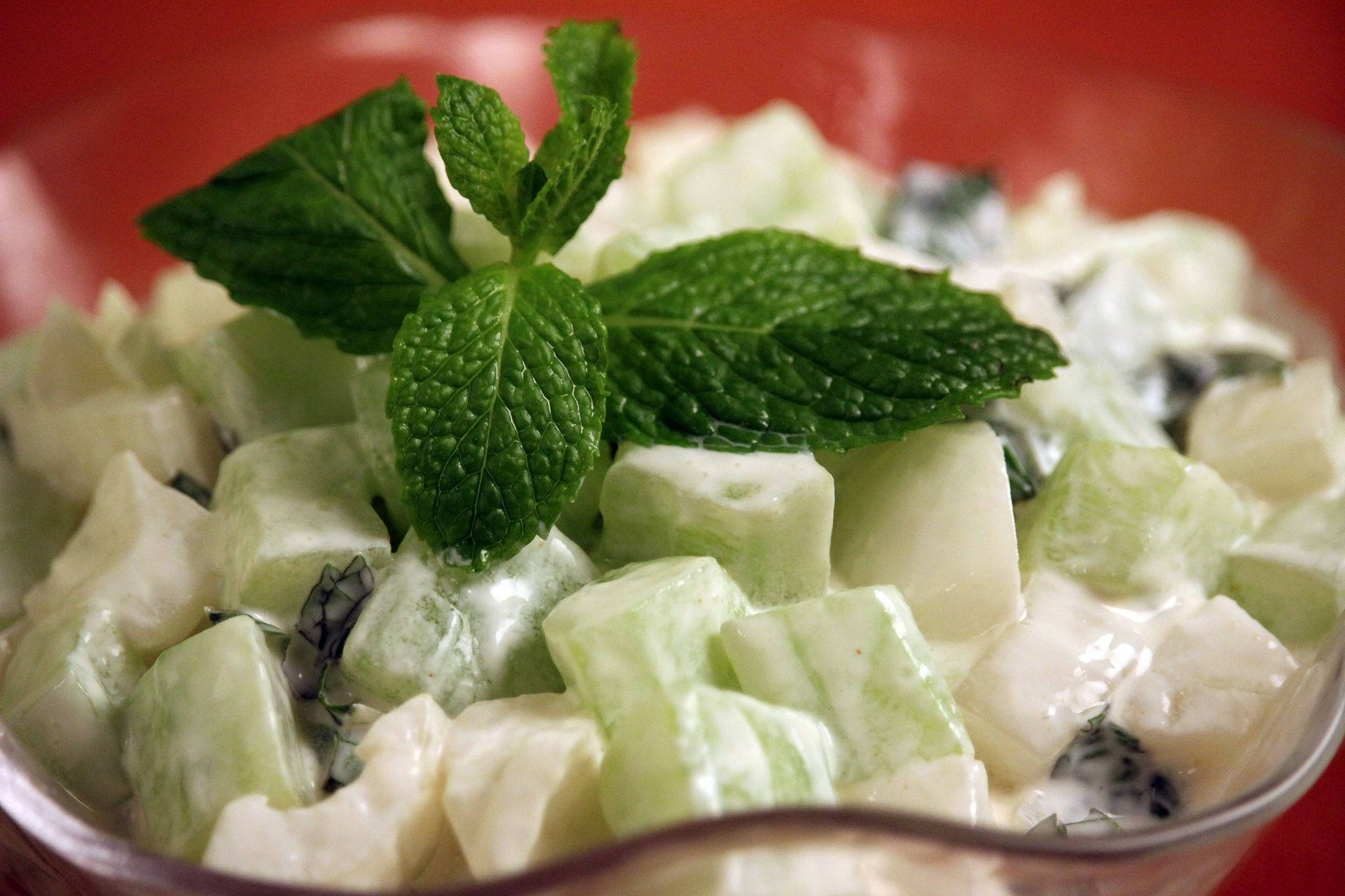 Cucumber Onion And Mint Salad Jacques Pepin Heart