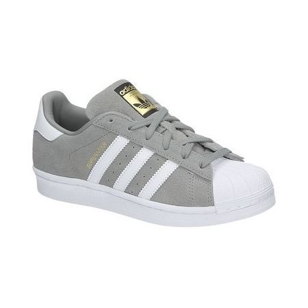 bd90aa28d20 Adidas SUPERSTAR SUEDE grijze lage sneakers | Tennis Shoes!!! in ...