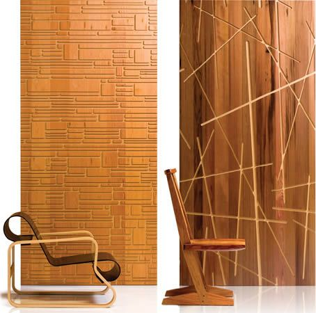 Revestimiento para paredes interiores en madera grills - Revestimientos de interiores ...